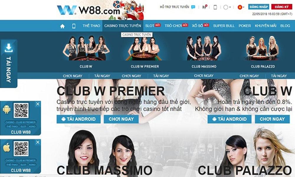 W88 - Cấp phép bởi Pagcor