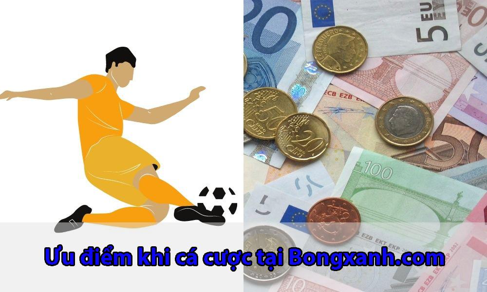 Ưu điểm khi tham gia cá cược tại Bongxanh.com