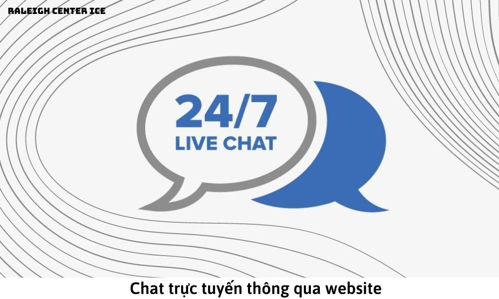 Chat trực tuyến thông qua website
